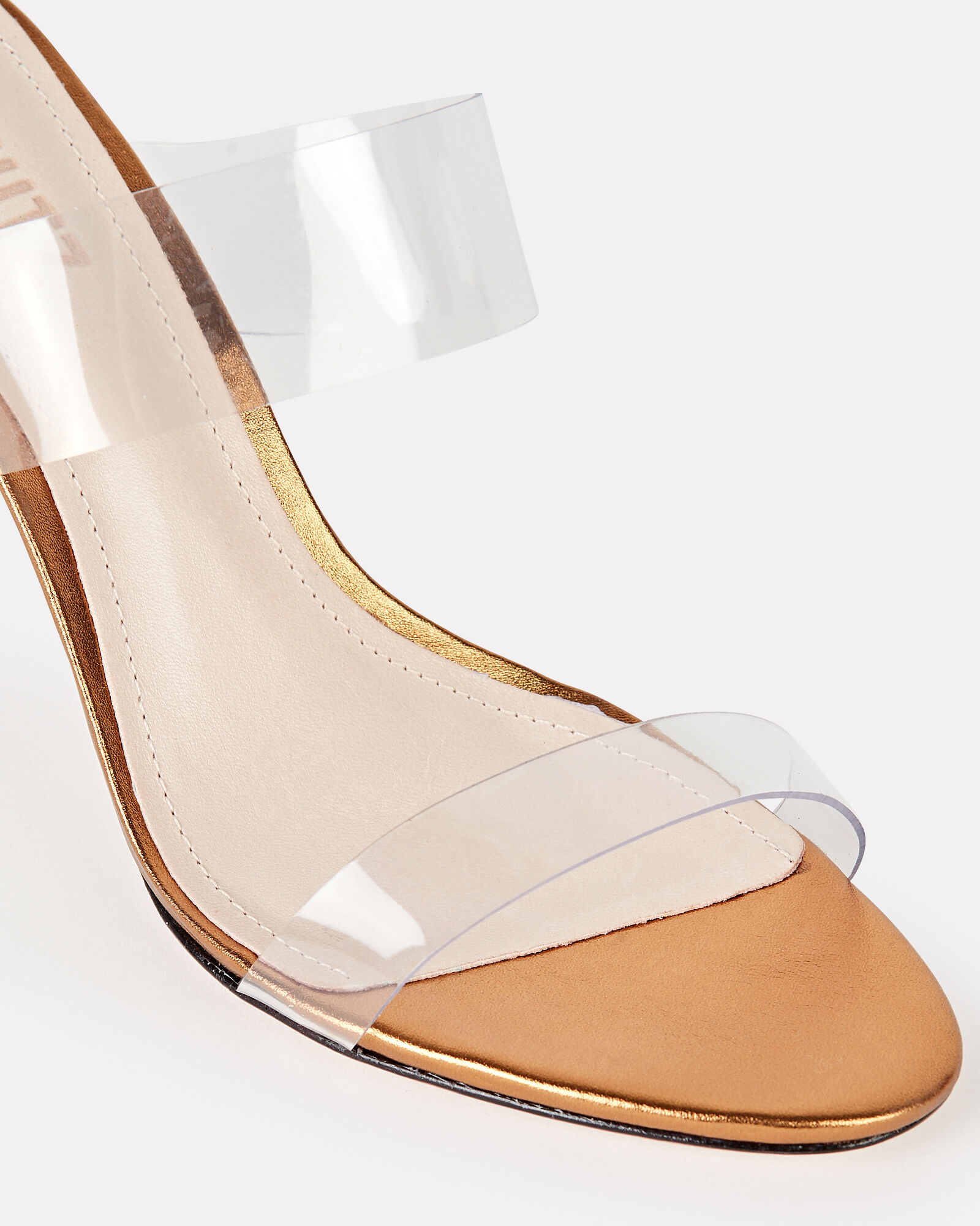 Ariella PVC Strap Sandals, CLEAR, hi-res