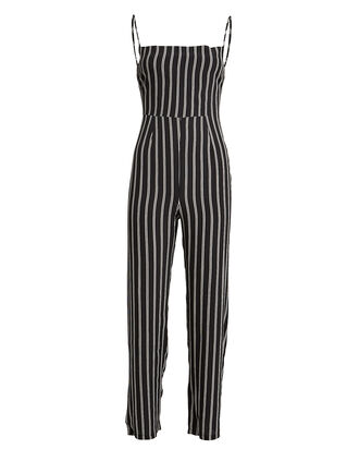 Rosalie Striped Crepe Jumpsuit, MULTI, hi-res