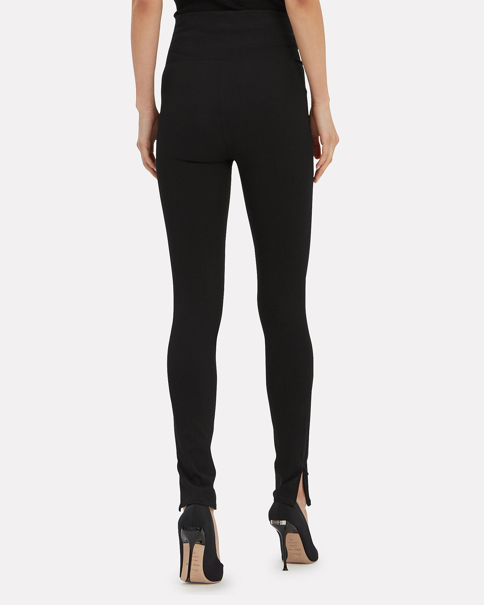 Reflex Zip Leggings, BLACK, hi-res