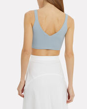 Ribbed Knit Bralette, BLUE-LT, hi-res