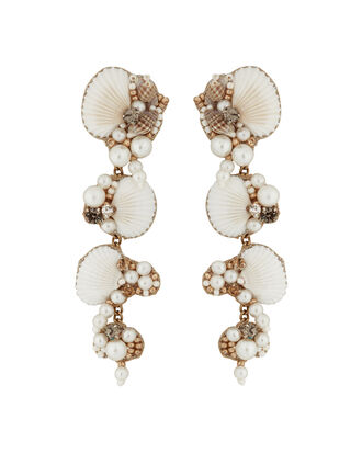 Deepa by Deepa Gurnani Aliyah Earrings, GOLD/IVORY, hi-res