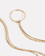 Baby Valentino And Fairy Floss Tassel Hoops, YELLOW GOLD, hi-res