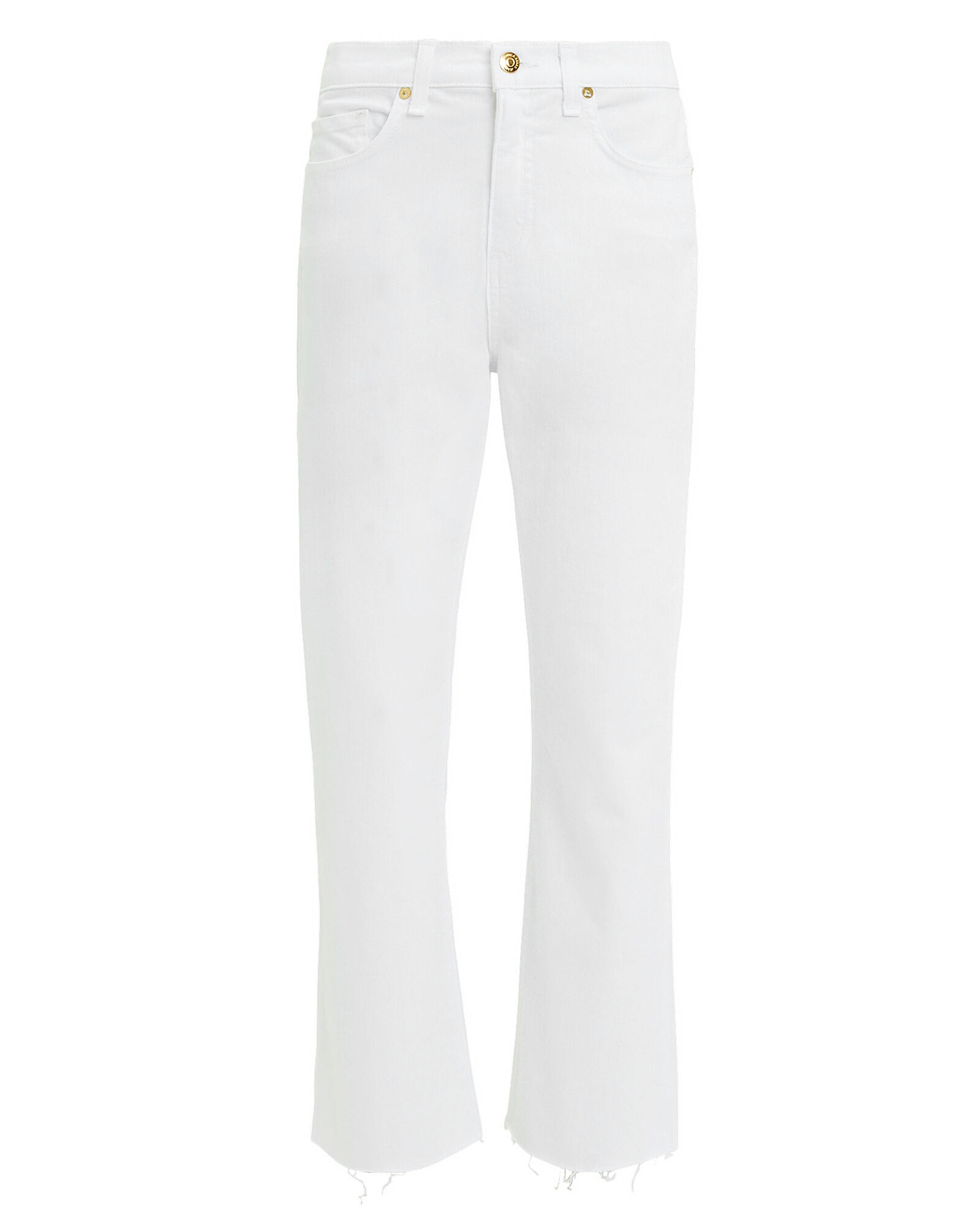 Carly Kick Flare Jeans, WHITE, hi-res