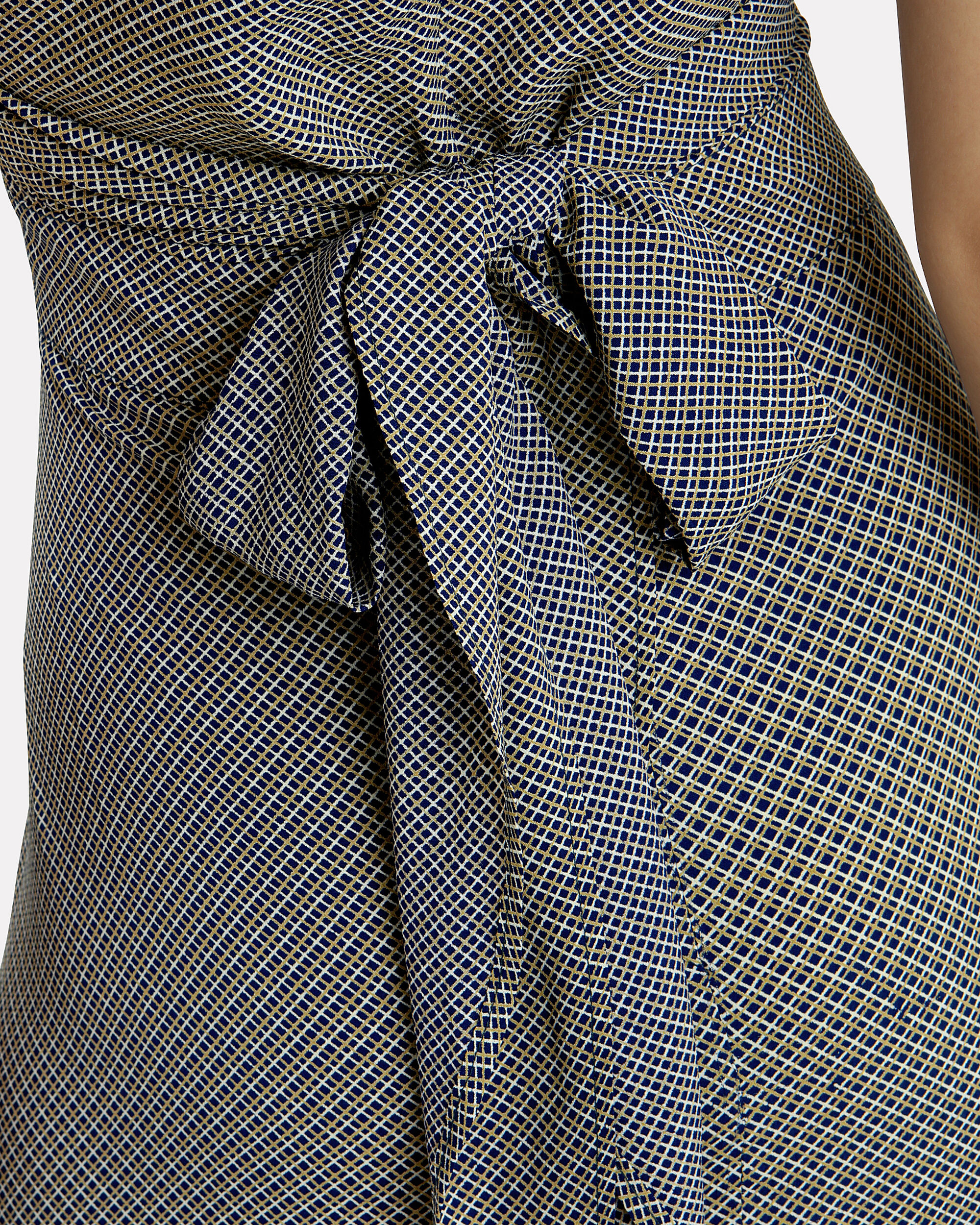 All Wrapped Up Maxi Dress, BLACK/WHITE GINGHAM, hi-res