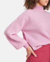 Mallory Alpaca-Wool Sweater, ROUGE, hi-res