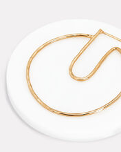 Open Circle Hoops, GOLD, hi-res
