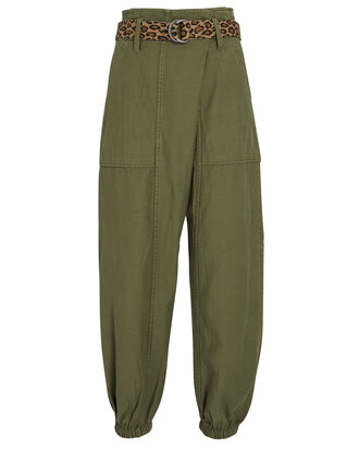 Crossover Utility Drop Pants, OLIVE, hi-res