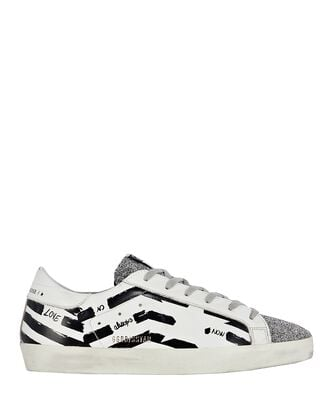Superstar Graffiti Low-Top Sneakers, BLK/WHT, hi-res