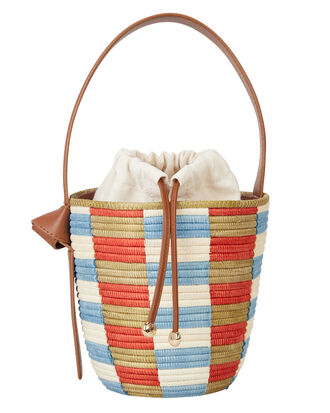 Brighton Striped Basket Bag, TAN/STRIPES, hi-res