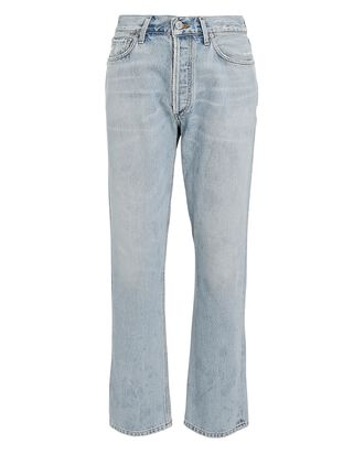 Charlotte High-Rise Straight-Leg Jeans, HOT SPRING, hi-res