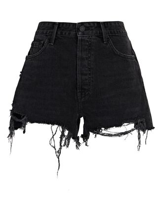 Helena Cut-Off Denim Shorts, IDYLLWILD, hi-res