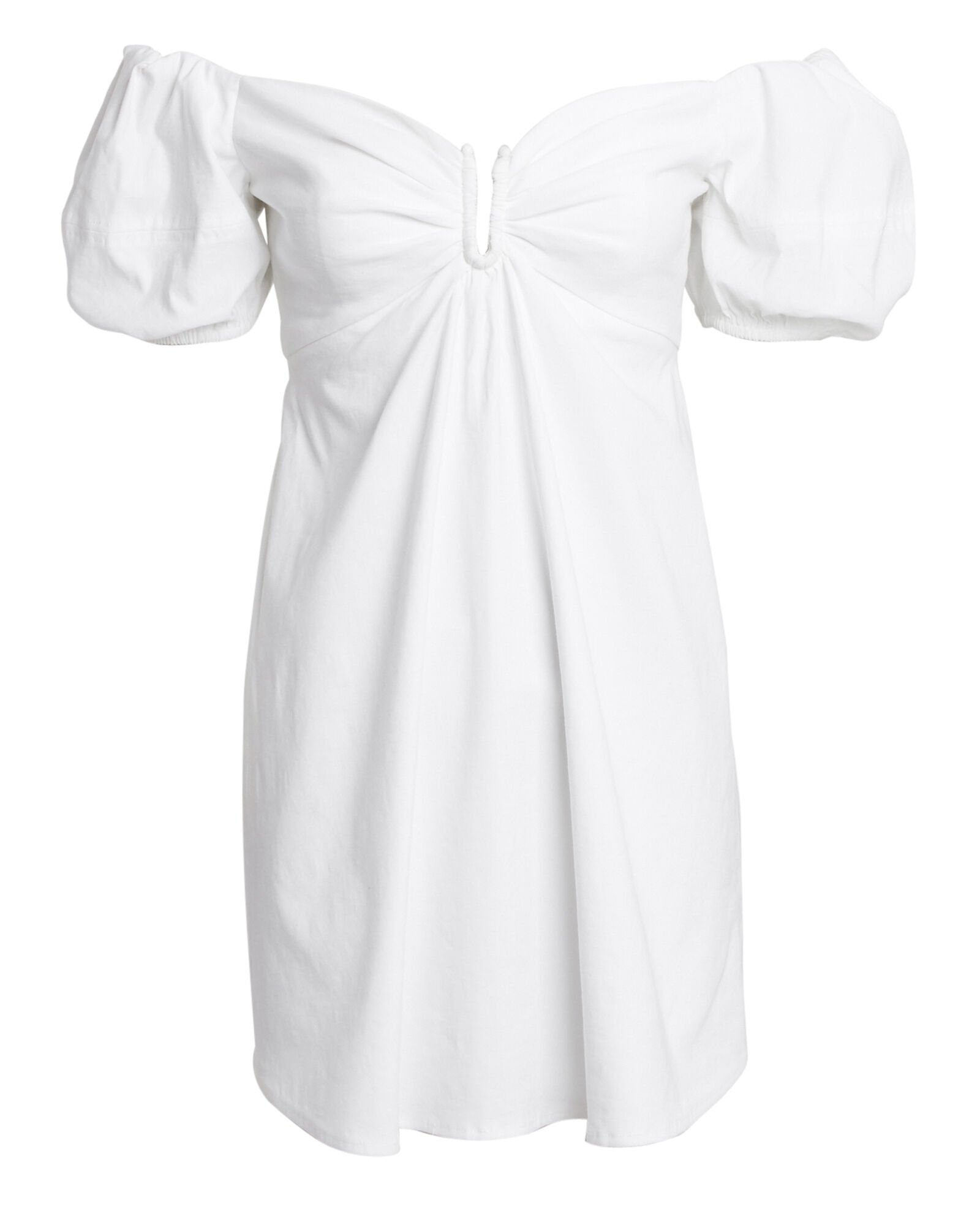 Aniston Mini Dress, WHITE, hi-res