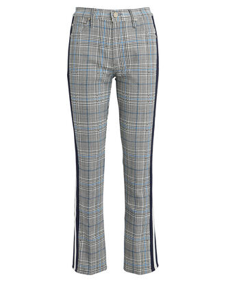 The Insider Plaid Ankle Jeans, BLUE PLAID, hi-res