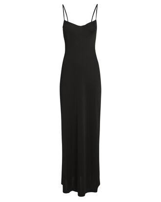 Berlin Bustier Jersey Gown, BLACK, hi-res