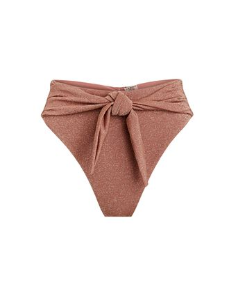 Paula Sparkle Bikini Bottoms, ROSE, hi-res