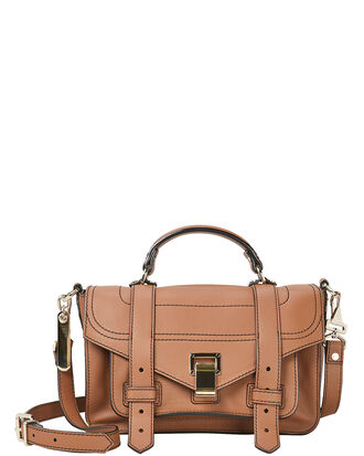 PS1 + Medium Brown Crossbody Bag, BROWN, hi-res
