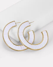 Fiona Threaded Hoops, MULTI, hi-res