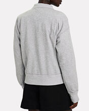 Moby High Neck Logo Sweatshirt, GREY, hi-res