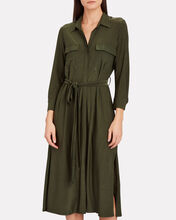 Rivi Jersey Shirt Dress, OLIVE/ARMY, hi-res