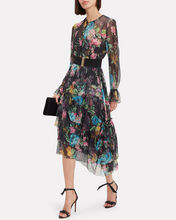 Ninety-Six Floral Frill Dress, MULTI, hi-res