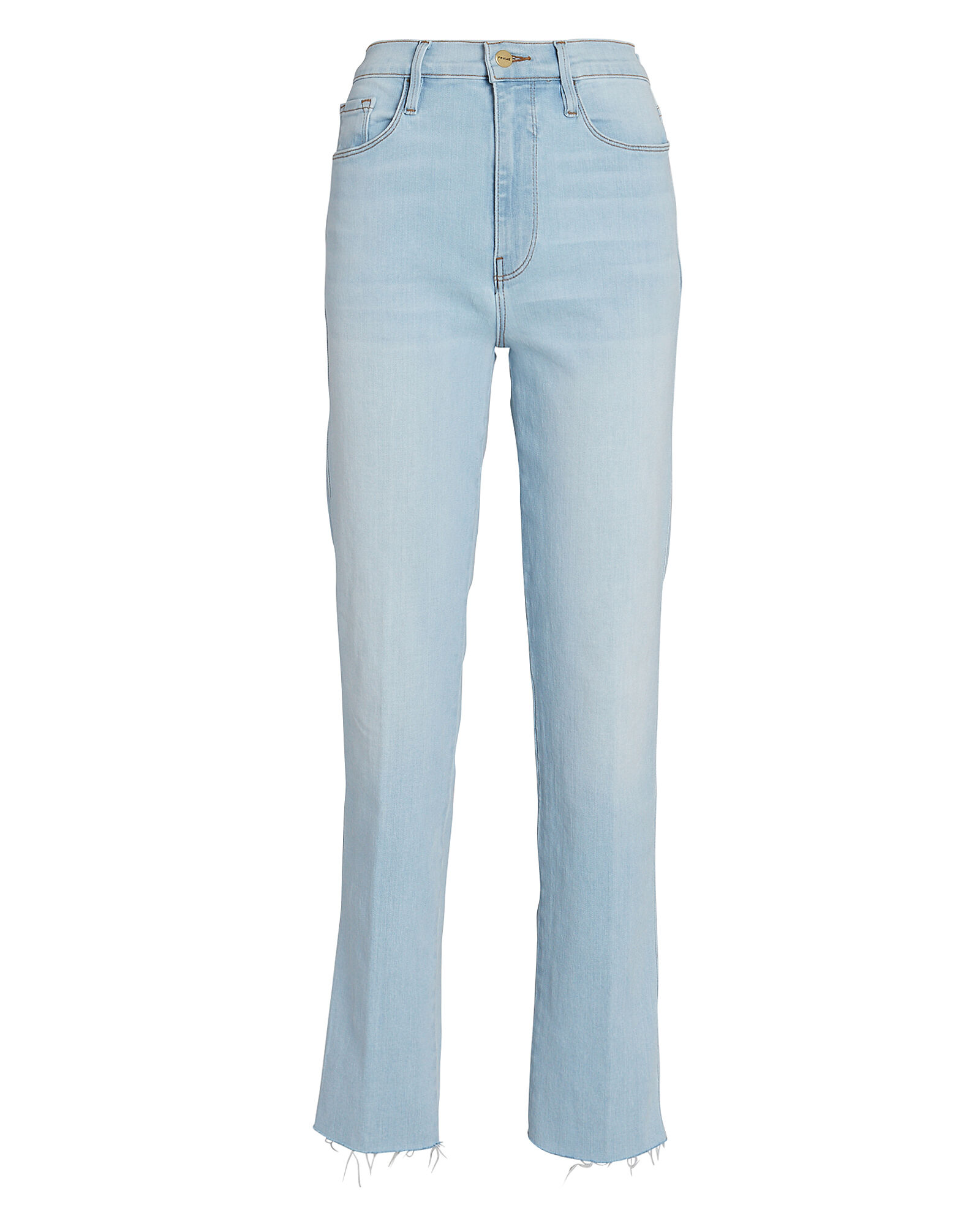 Le Sylvie Straight-Leg Jeans, LIGHT WASH DENIM, hi-res