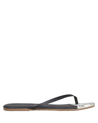 Diamond Back Flip Flops, BLACK/PYTHON, hi-res