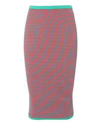 Jacquard Pencil Skirt, MULTI, hi-res