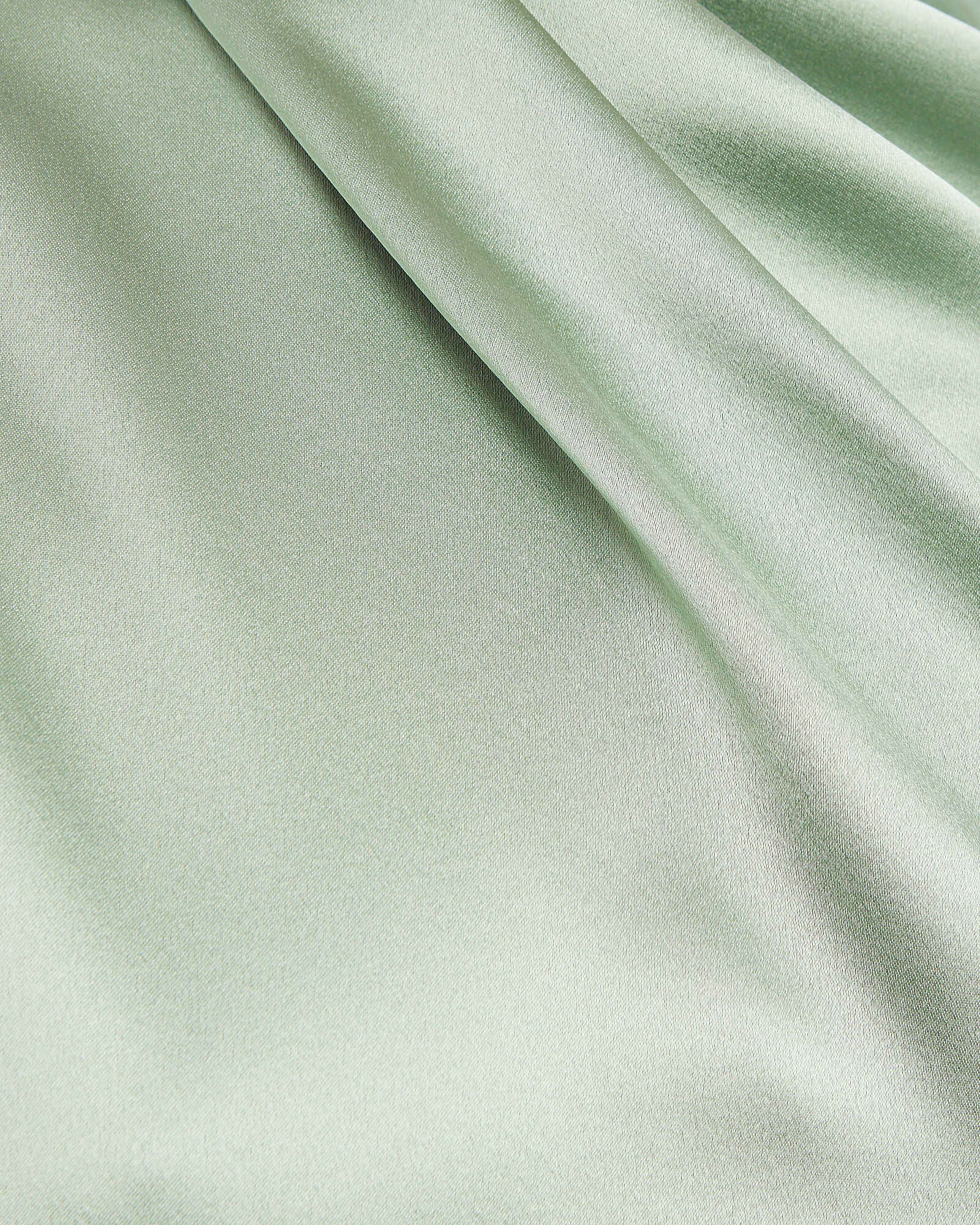 Silk Charmeuse High Neck Dress, MINT, hi-res
