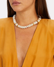 Niki Pearl Chain-Link Necklace, GOLD, hi-res