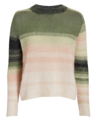 Sophie Ombré Sweater, PINK/GREEN, hi-res