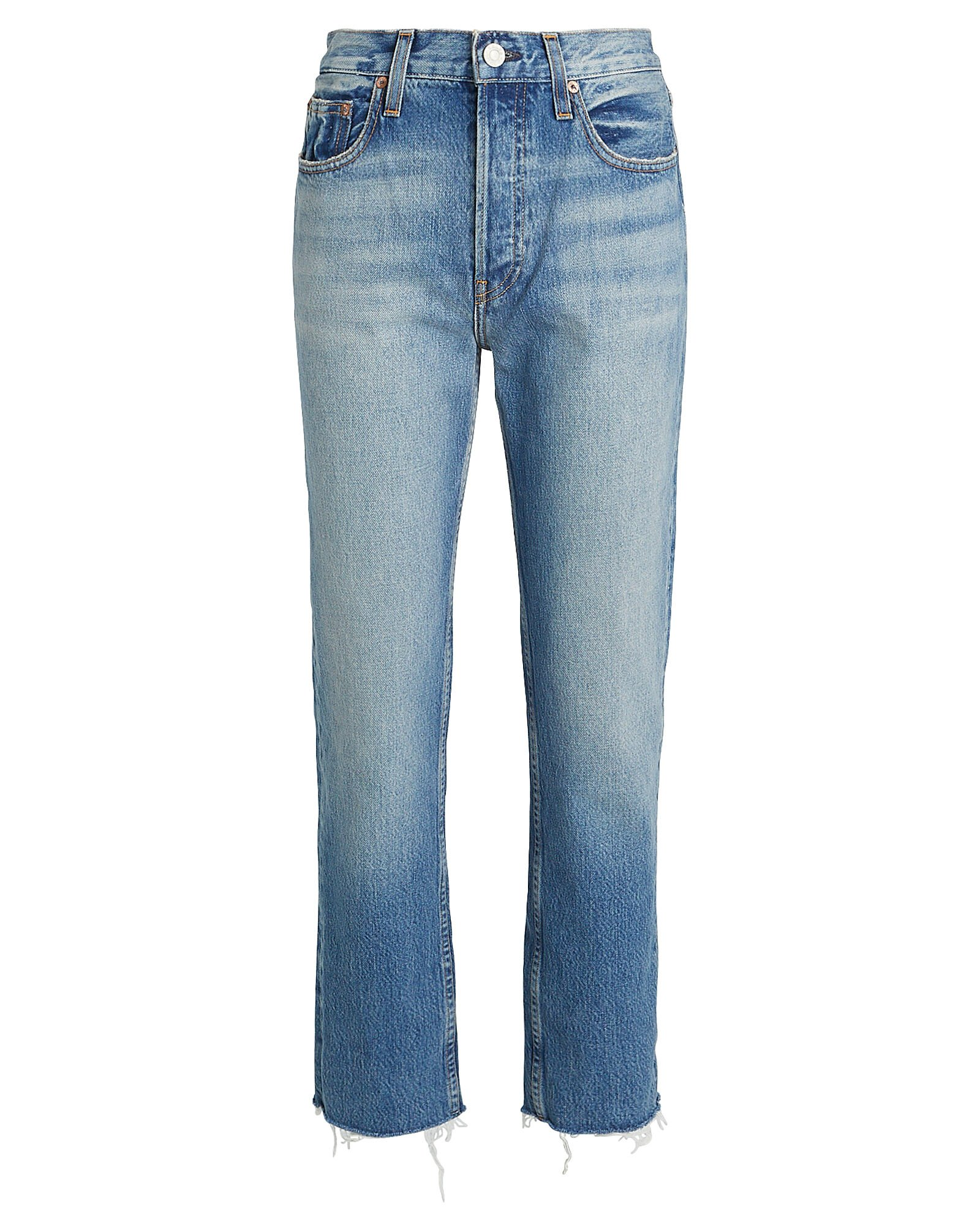 Constance Tapered High-Rise Jeans, DENIM, hi-res