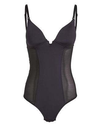 Marni Mesh Low Back Bodysuit, BLACK, hi-res