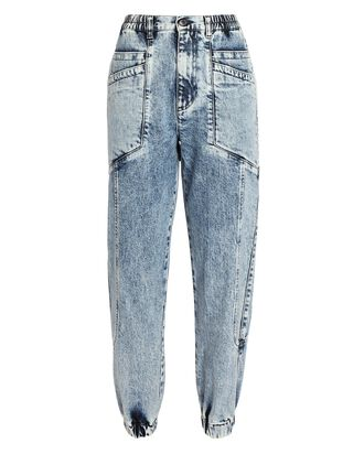 Myla Tapered Jeans, ACID WASH DENIM, hi-res