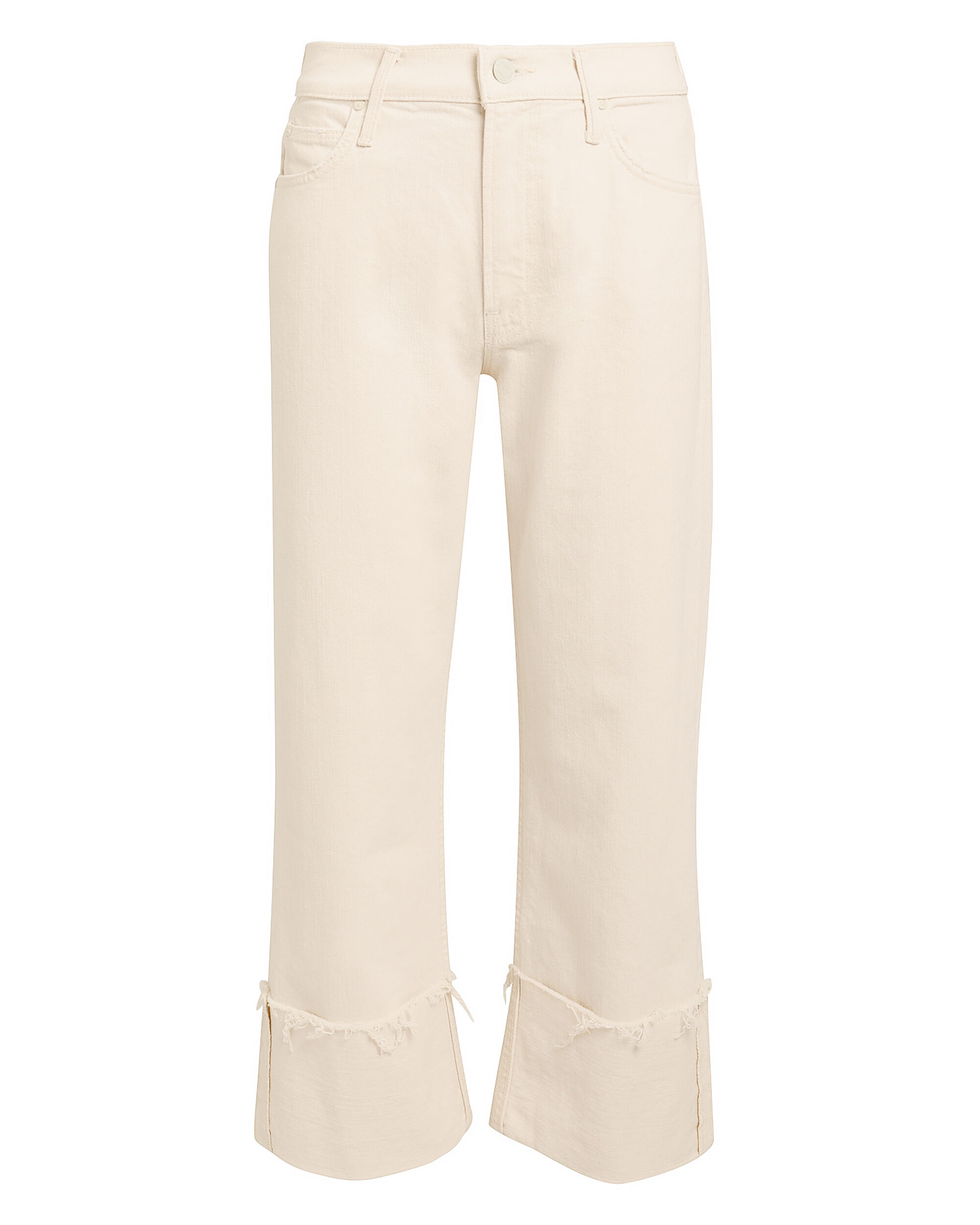 Act Natural Dusty Cuff Jeans, IVORY DENIM, hi-res