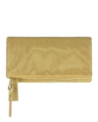 Beaded Foldover Clutch, , hi-res