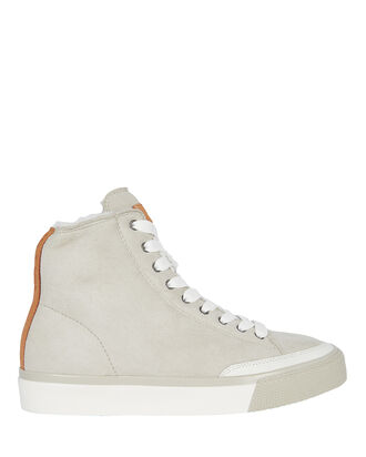 Rb Suede Shearling-Lined High-Tops, WARM GREY, hi-res