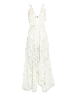 Sleeveless Crochet Beach Dress, IVORY, hi-res