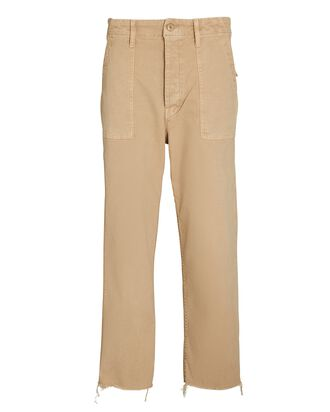 The Patch Pocket Private Ankle Jeans, SO FAR GONE, hi-res