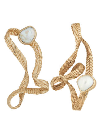 Martine Pearl Earrings, GOLD/PEARL, hi-res