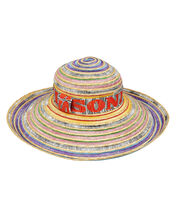 Wide Brim Beach Hat, MULTI, hi-res
