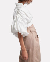 Allégro Ring Crop Top, WHITE, hi-res