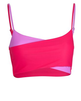 Play Cross Sports Bra, PINK, hi-res