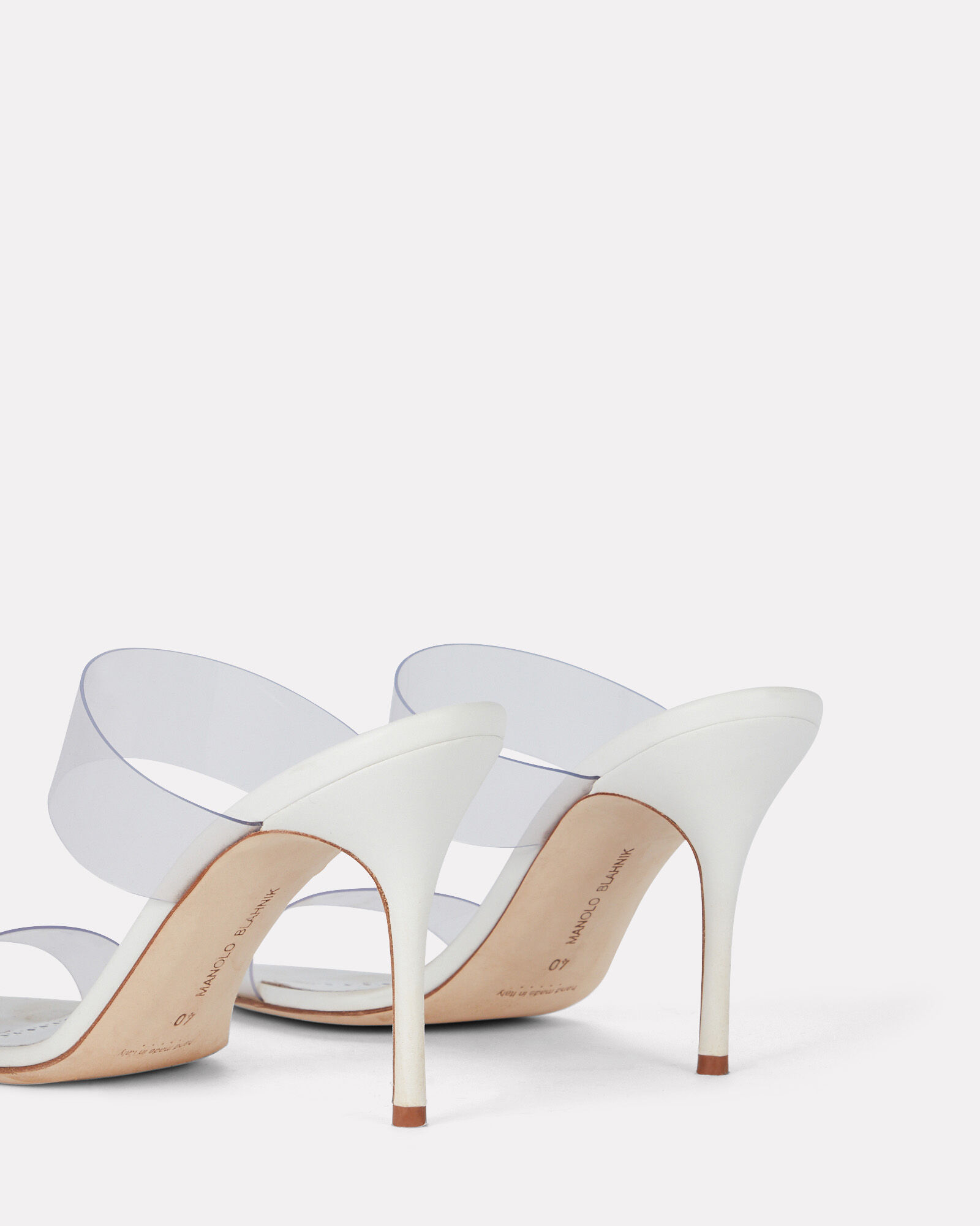 Scolto PVC Strap Sandals, WHITE, hi-res