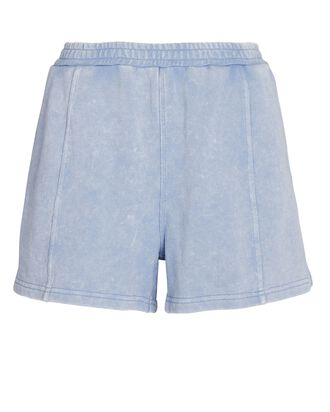 Makena Terry Sweat Shorts, PALE BLUE, hi-res