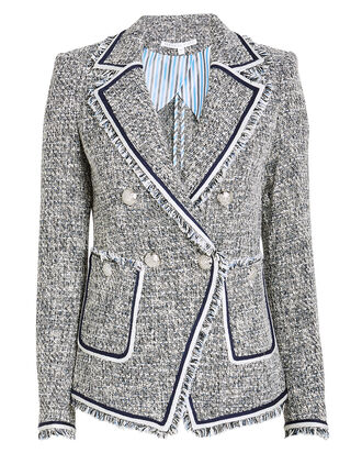 Theron Tweed Blazer, BLUE-MED, hi-res