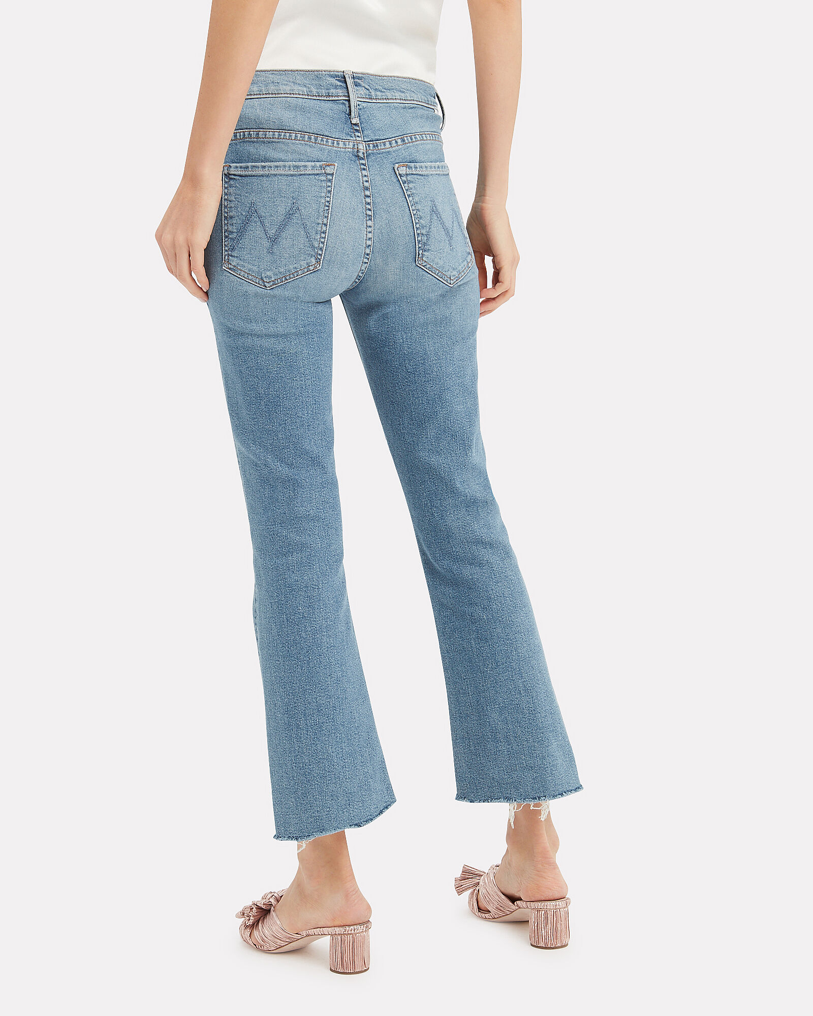 The Insider Crop Step Fray Jeans, SHOOT TO THRILL, hi-res