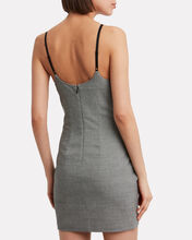Houndstooth Bodycon Dress, BLACK/WHITE HOUNDSTOOTH, hi-res