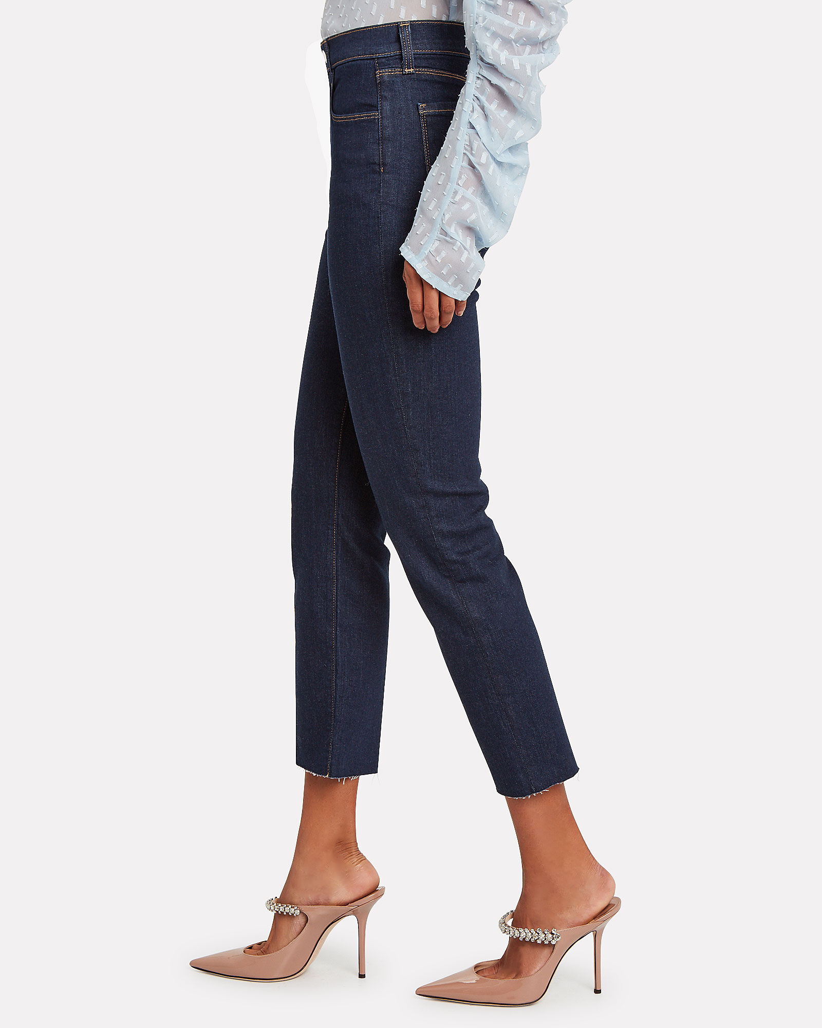 Sada Slim Straight Leg Jeans, INDIGO DENIM WASH, hi-res