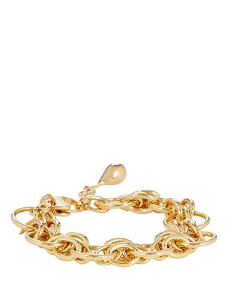 Cirque Open Chain-Link Bracelet, GOLD, hi-res