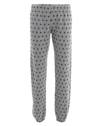 Star Grey Sweatpants, GREY/BLACK, hi-res